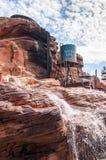 Stationnement Disney d'attractions à Paris Photo libre de droits