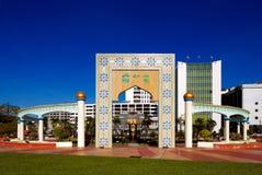 Stationnement du centre du capital du Brunei photo libre de droits