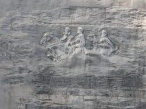 Stationnement en pierre de montagne Photographie stock libre de droits