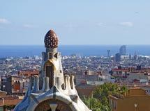 stationnement Espagne de guell de Barcelone Photos stock