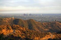 Stationnement et Los Angeles de Griffith Photos stock