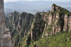 Stationnement géologique national de montagne de Baishi Photographie stock