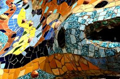 Stationnement Guell [01] Photographie stock