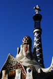 Stationnement Guell Photographie stock