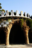 Stationnement Guell Image stock