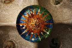 Stationnement Guell Images stock
