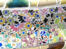 Stationnement Guell, Barcelone Photo stock