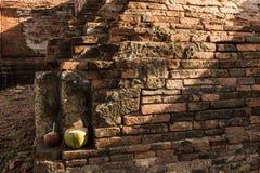 Stationnement historique d'Ayutthaya Photo libre de droits