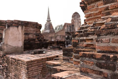 Stationnement historique d'Ayutthaya Photographie stock
