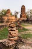 Stationnement historique d'Ayutthaya Photos libres de droits