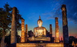 Stationnement historique de Sukhothai Photos stock