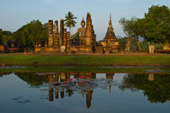 Stationnement historique de Sukhothai, nord de la Thaïlande Photo libre de droits