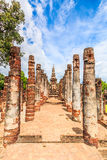 Stationnement historique de Sukhothai, Thaïlande Photos libres de droits