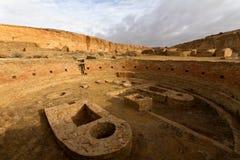 Stationnement historique national de culture de Chaco Images stock
