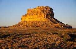 Stationnement historique national de culture de Chaco Images libres de droits