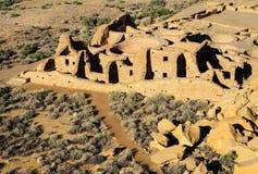 Stationnement historique national de culture de Chaco Image stock