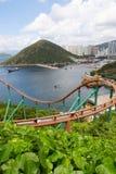 Stationnement Hong Kong d'océan Photographie stock