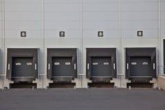 Stationnement logistique Photo stock