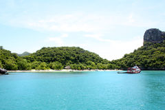 Stationnement marin national de lanière d'ANG, Thaïlande Images libres de droits