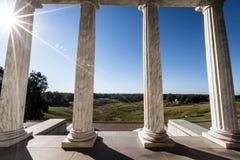 Stationnement militaire national de Vicksburg image libre de droits