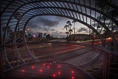 Stationnement moderne Photographie stock libre de droits