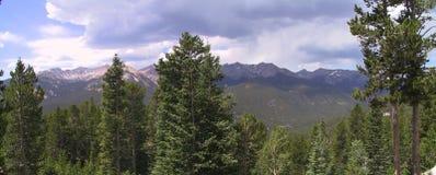 Stationnement national 2 de montagne rocheuse Images libres de droits