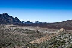 Stationnement national 2 de Teide Photo libre de droits