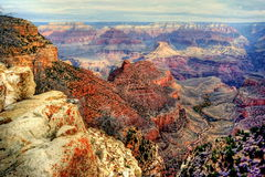 Stationnement national Arizona de gorge grande Images libres de droits
