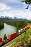 stationnement national canadien les Rocheuses de banff Canada Photo libre de droits