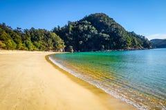 Stationnement national d'Abel Tasman, Nouvelle Zélande Image libre de droits