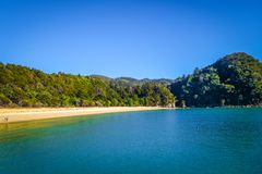 Stationnement national d'Abel Tasman, Nouvelle Zélande Images stock