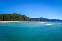 Stationnement national d'Abel Tasman, Nouvelle Zélande Image stock