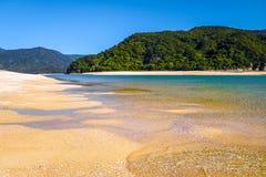 Stationnement national d'Abel Tasman, Nouvelle Zélande Photo libre de droits