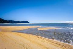 Stationnement national d'Abel Tasman, Nouvelle Zélande Photographie stock