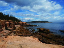 Stationnement national d'Acadia, Maine, Etats-Unis Image stock