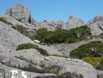 Stationnement national d'Andringitra au Madagascar Image libre de droits