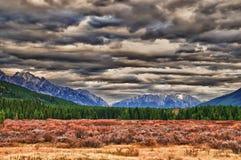Stationnement national de Banff Photos libres de droits