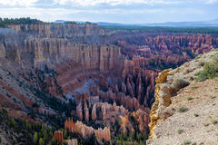 Stationnement national de canyon de Brice Photo libre de droits