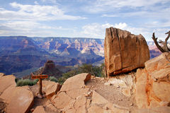 Stationnement national de canyon grand, Arizona Etats-Unis Image stock