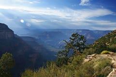 Stationnement national de canyon grand, Arizona Etats-Unis Photo libre de droits