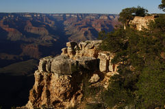 Stationnement national de canyon grand, Etats-Unis Photo libre de droits