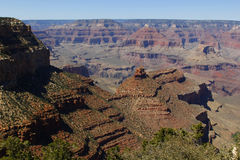 Stationnement national de canyon grand, Etats-Unis Image stock