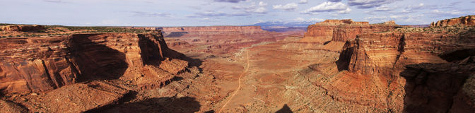 Stationnement national de Canyonlands Photo stock