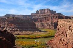 stationnement national de canyonlands photographie stock