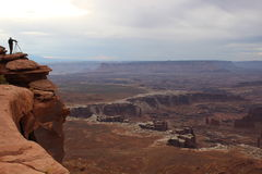 Stationnement national de Canyonlands, Utah Photographie stock libre de droits