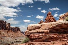 Stationnement national de Canyonlands, Utah, Etats-Unis photographie stock