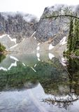 Stationnement national de cascades du nord photos libres de droits
