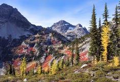 Stationnement national de cascades du nord images stock