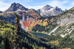 Stationnement national de cascades du nord image libre de droits