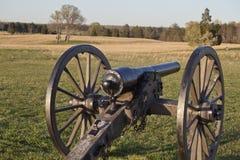 Stationnement national de champ de bataille de Manassas, la Virginie Images stock